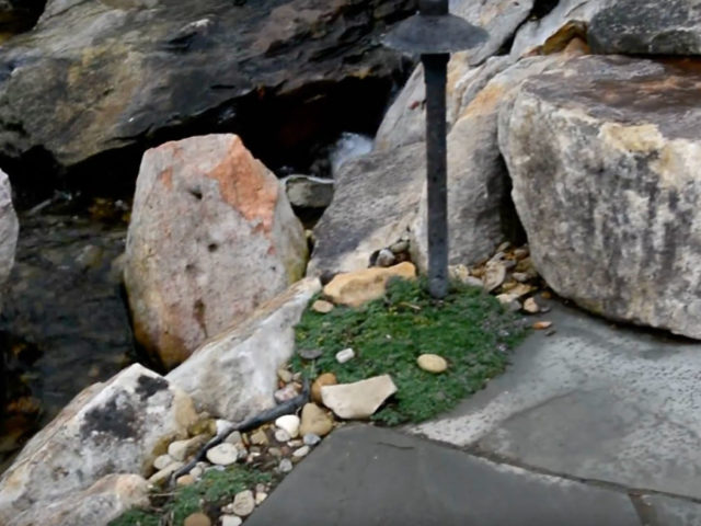The importance of boulders in natural water features