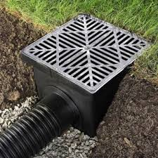 Outdoor drainage maintenance